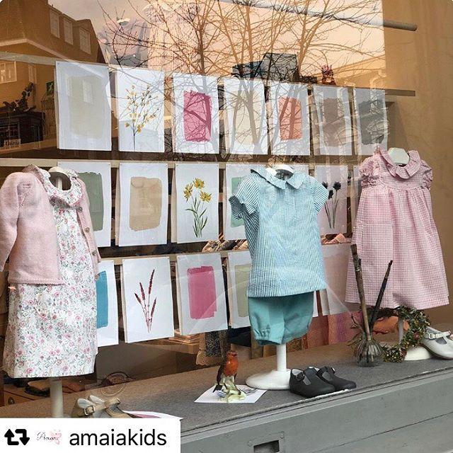 Amaia Kids ♥アマイアキッズロンドン本店の可愛さが詰まったショーウィンドウ。