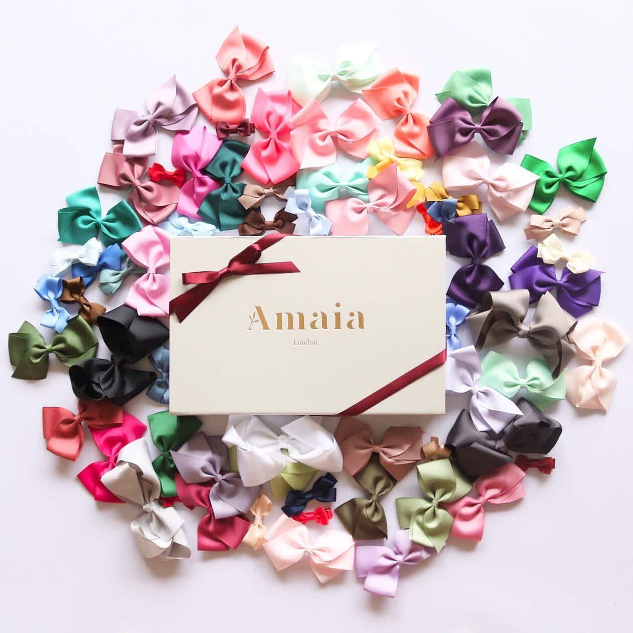 Amaia Kids ヘアクリップ、全66色展開となり販売開始いたしました。