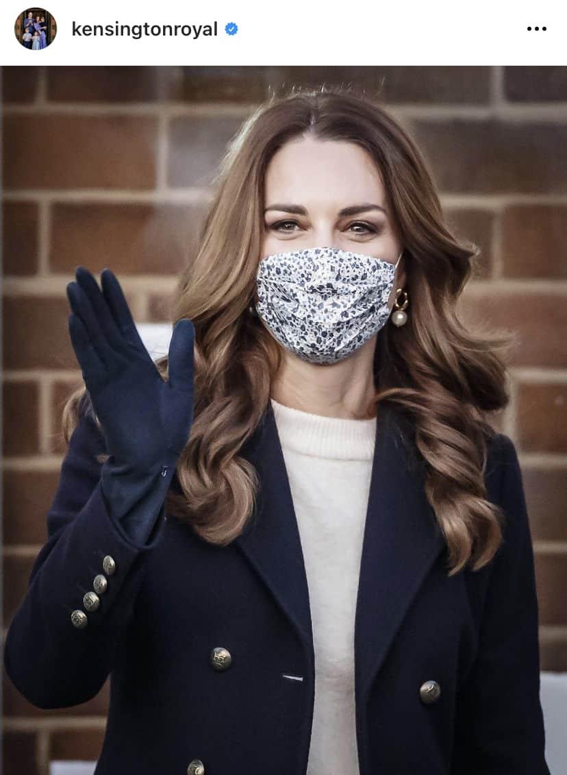 Amaia Kids ♥キャサリン妃がアマイアキッズマスクをご着用